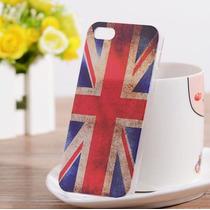 Funda Protectora De Bandera De Inglaterra Para Iphone 5 / 5s