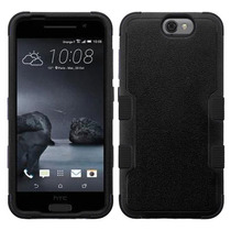 Funda Protector Triple Layer Htc One A9 Negro