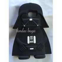 Funda Darth Vader S6 Edge Galaxy Starwars Silicon Samsung