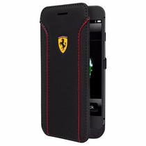 Funda Cargador Ferrari Para Iphone 6 Plus 6s Plus Negro