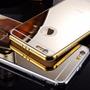 Bumper Case Lujo Iphone 6 Edicion Mirror Mica Cristal Gratis