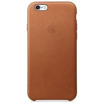 Funda Original En Piel Logo Apple Iphone 6 En Su Empaque