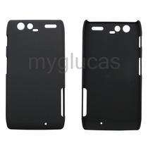 Funda Plastico Para Motorola Razr Maxx Xt910 + Mica Pantalla