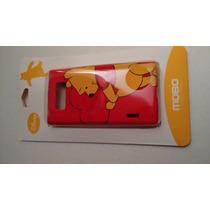 Protector Plástico Rígido Lg P708 L7 Envío Gratis Mexpost