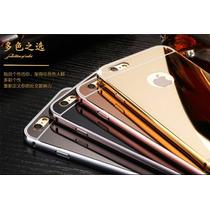 Bumper Lujo Espejo Aluminio Iphone 6, 6s, 6 Plus, 6s Plus