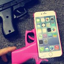 Funda Pistola Iphone Case 4, 5 Y 6 Precio Mayoreo 10 Piezas