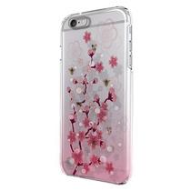 Funda Protector Mobo Apple Iphone 6 Plus Flores Rosas Transp