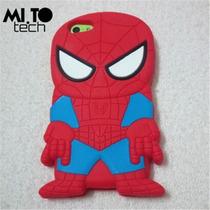 Envio Gratis Funda Iphone 4,4s Súper Héroes Spider Man