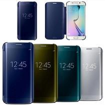 Funda Flip Cover Samsung Galaxy S6 Flat Varios Colores