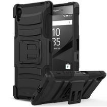 Sony Xperia Z5 Premium - Mica Privacidad Con Armor Dual Case