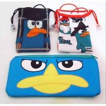 Lote De Perry El Ornitorrinco Agente P Kawaii Phineas Ferb