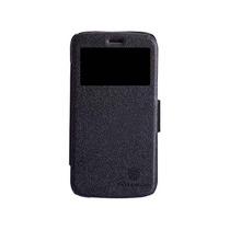 Motorola Moto G Funda Negra Nillkin Flip Cover S View