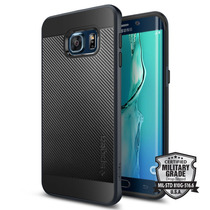 Spigen Samsung S6 Edge Plus Funda Neohybrid Carbon Azul Mari