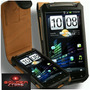 Htc Sensation Funda Con Clip Piel Cartera