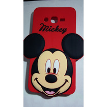 Protector Goma Flexible 3d Mickey Mouse Grand Prime