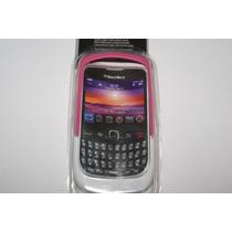 Funda Para Celular Rosa Con Blanco Bb9300 Bb8520