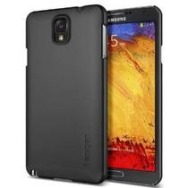 Galaxy Note 3 Case, Spigenâ® [ultra Fit] Antideslizante [neg