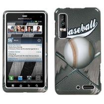 Protector Funda Motorola Droid 3 (xt862 - Xt860) Baseball