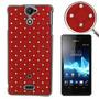 Funda Sony Xperia V/lt25i Red Entrega10dias Mdec|0023r
