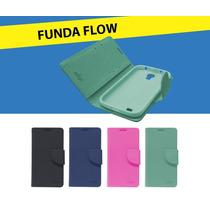 Funda Cartera Flip Cover Lanix Ilium W250 + Mica Gratis
