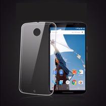 Funda Nexus 6 Carcasa Cristal Transparente Tpu Suave