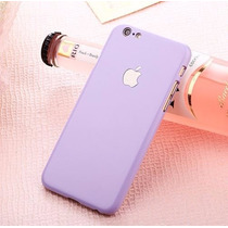 Funda Iphone 5, 5s Color Pastel Protector Case - Morado