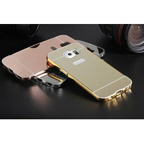 Bumper De Lujo Espejo Aluminio Galaxy Note 4 Note 5