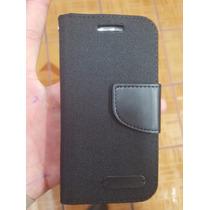 Funda Cartera Flip Cover Frees Huawei Ale L23 G Elite + Mica