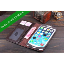 Funda Tipo Libro Antiguo Iphone 4 4s 5 5s 5c Envio Gratis!!!