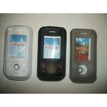 Wwow Silicon Skin Case Para Sony Ericsson Walkman W580!!!