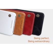 Huawei Nexus 6p Funda Nillkin De Cuero Original +mica Gratis