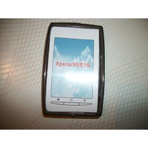 Funda De Plastico Gris Obscuro Nuevo Sony Ericsson Xperia X8