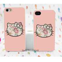 Iphone Case Hello Kitty Rosa Iphone 4 4s Y 5 5s