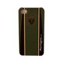 Funda Protector Mobo Lamborghini Apple Iphone 4/4s Gris