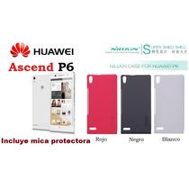 Funda/protector Nillkin Huawei Ascend P6 + Mica