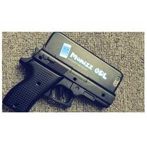 Funda 3d Tipo Pistola Negra Para Iphone 5 / 5s