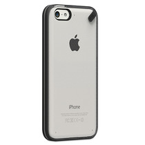 Pure.gear Slim Shell Iphone 5c Transparente Con Negro - Mobo