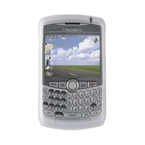Oem Blackberry Piel Para 8300, 8310, 8320, 8330 (blanco)