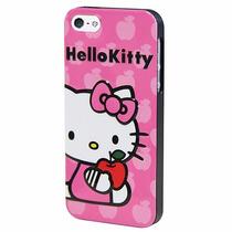Funda Hello Kitty Iphone 5 Cuerpo 3d Rosa