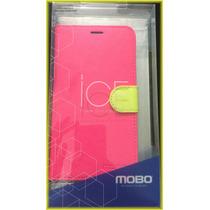 Funda Cartera Mobo Ice Original Samsung Galaxy S5 Rosa