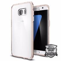 Funda Spigen Ultra Hybrid Sam Galaxy S7 Edge - Rosa Crystal
