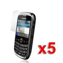 5x Blackberry Curve 3g 9300 9330 Protector De Pantalla De Al