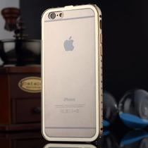 Iphone 6s/6 Bumper De Lujo Metal Y Tapa Trasera