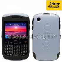 Funda Otterbox Commuter Blackberry 8520 8530 9300 Gris Negro