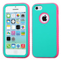 Funda Protector Apple Iphone 5c Mixto Aqua / Fiusha Antiderr