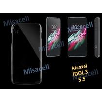 Protector Crystal Case Alcatel Idol 3 De 5.5 + Mica Gratis