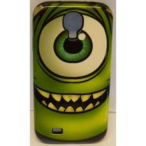 Funda Protector Mixto Samsung Galaxy S4 Mike Wazowski