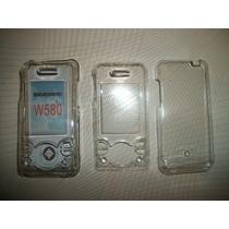 Wwow 2 Crystal Case Sony Ericsson Walkman W580 Excelentes!!!