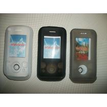 Wwow Silicon Skin Case Sony Ericsson Walkman W580 Excelentes