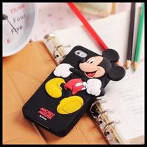 Funda Mickey Minnie Duck Pig Chip Silicon Suave Iphone 6 Plu